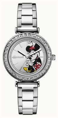 Disney By Ingersoll Womens Union The Disney Stainless Steel Silver Dial ID00305