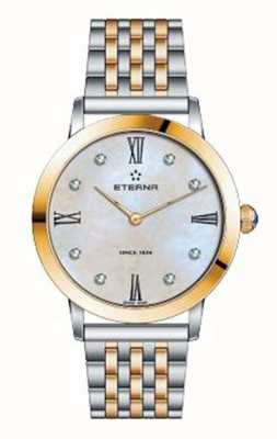 Eterna Womens Eternity Bracelet Two Tone Watch 2720.53.69.1739