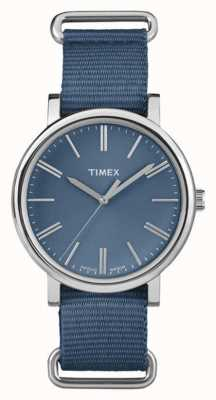 Timex Unisex Navy Dial Navy Fabric Strap TW2P88700