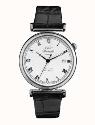 J&T Windmills Mens Bartholomew Mechanical Watch Sterling Silver WGS10000/08