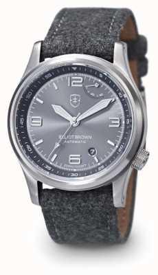 Elliot Brown Mens Tyneham Grey Stap Grey Dial 305-002-F01