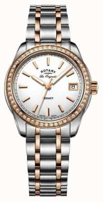 Rotary Womens Les Originales Legacy Two Tone Stainless Steel LB90175/01