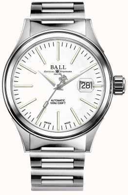 Ball Watch Company Mens Fireman Enterprise Auto Stainless Steel Bracelet NM2188C-S5J-WH