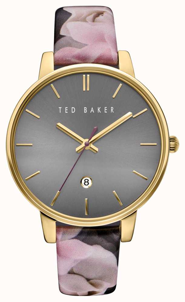 9b7bb74c35b5c2 Ted Baker Womans Rose Leather Strap TE10030696 - First Class Watches ...