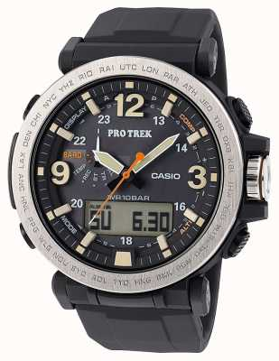 Casio Mens Pro Trek solar Powered Alarm Compass PRG-600-1ER