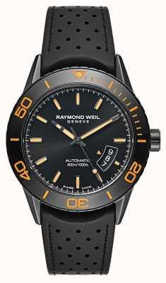 Raymond Weil Mens Automatic Black PVD Plated Steel 2760-SB2-20001