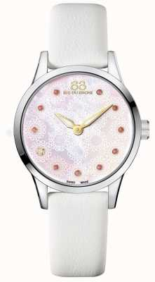 88 Rue du Rhone Rive 32mm Ladies Quartz White Leather 87WA153209
