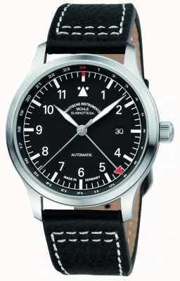Muhle Glashutte Terrasport IV GMT Black Leather M1-37-94-LB