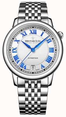 Dreyfuss Ladies Stainless Steel 1925 Watch DLB00148/01