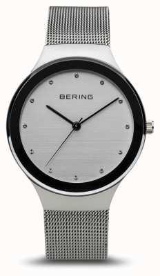Bering Women's Classic | Polished Silver | Silver Mesh Bracelet 12934-000