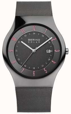 Bering Mens Solar Classic Watch 14640-077