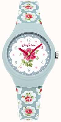 Cath Kidston Ladies Provence Blue Rose Printed Watch CKL025U