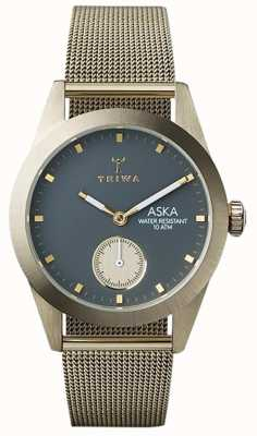 Triwa Womans Ash Aska Gold Mesh AKST103-MS121717