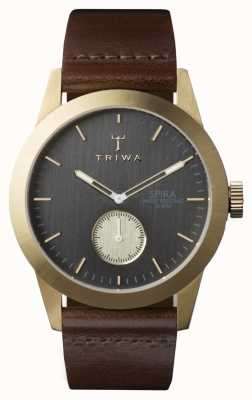 Triwa Mens Ash Spira Brown Leather SPST101-CL010413