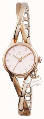 Radley Rose Gold Plated Half Bangle RY4184