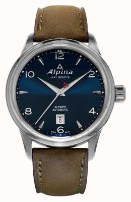 Alpina Mens Alpiner Automatic Blue AL-525N4E6