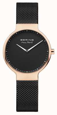 Bering Ladies Max René interchangeable Mesh Strap Black 15531-262