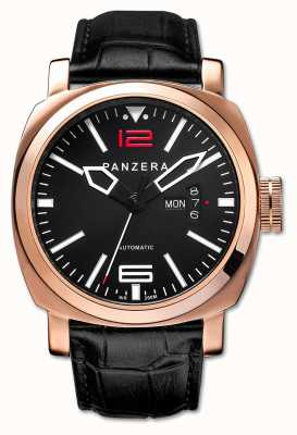 Panzera Aquamarine 45 Adriatic Spirit rose gold case A45-03