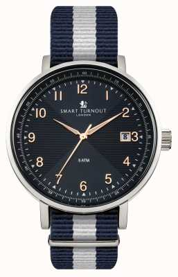 Smart Turnout Scholar Watch Blue With Yale Strap STH3/BL/56/W