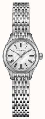 Hamilton Womans American Classic Valiant Quartz Silver Tone H39251194