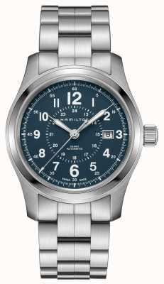 Hamilton Mens Khaki Field Auto 40mm Blue H70305143