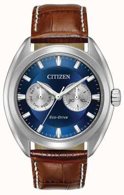 Citizen Mens Eco-Drive Blue Dial Paradex BU4010-05L