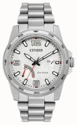 Citizen Mens Eco-Drive Power Reserve Steel AW7031-54A