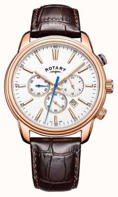 Rotary Mens Monaco Sports Chronograph Leather GS05084/06
