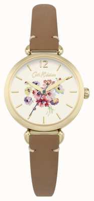 Cath Kidston Womans Floral Dial Brown CKL015TG