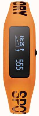 Superdry Unisex Fitness Tracker Orange Silicone Strap SYG202O