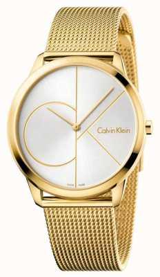 Calvin Klein Mens Minimal Gold Mesh K3M21526