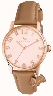 Radley Womans Liverpool Street Light Brown Leather Strap RY2458