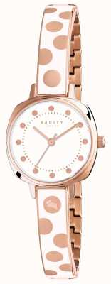Radley Womans Kennington Spot Enamel Cream RY4272