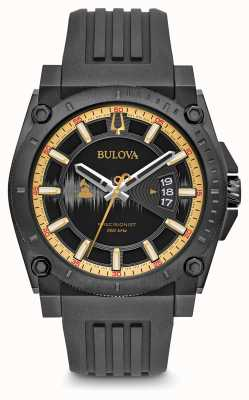 Bulova Special Edition Grammy Precisionist Black Rubber Strap 98B294