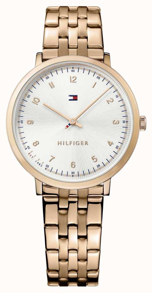 30b86b6e Tommy Hilfiger Womans Pippa Rose Gold Plated 1781760 - First Class ...