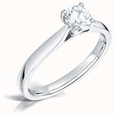 Certified Diamond 0.30ct D SI1 GIA Diamond Engagement Ring FCD28346