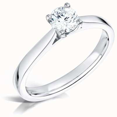Certified Diamond 0.31ct H SI1 GIA Diamond Engagement Ring FCD28380