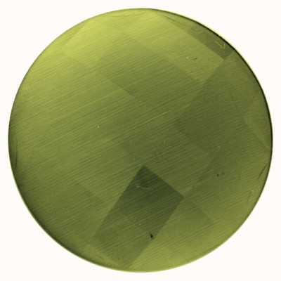 "MY iMenso FACETED CAT'S EYE ""OLIVE GREEN 33-1221"