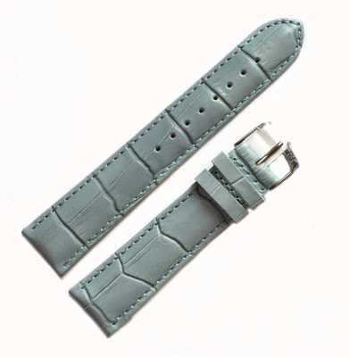 Morellato Strap Only - Samba Alligator Light Blue 20mm A01X2704656068CR20