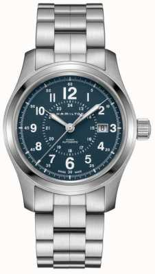 Hamilton Mens Khaki Field Auto 42mm Stainless Steel H70605143