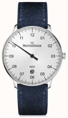 MeisterSinger Mens Form And Style Automatic Silver NE401