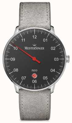 MeisterSinger Mens Form And Style Neo Plus Automatic Black NE402