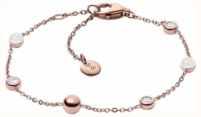 Skagen Womans Sea Glass Rose Gold Bracelet SKJ0971791