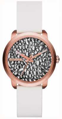 Diesel Ladies Flare Series White/stone Watch DZ5551