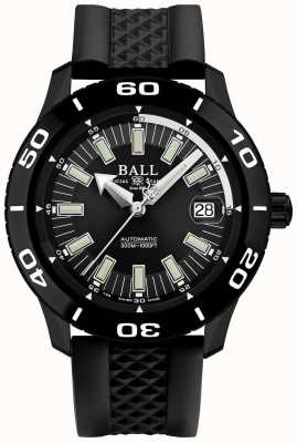 Ball Watch Company Fireman NECC PVD Case Black Rubber Strap DM3090A-P4J-BK