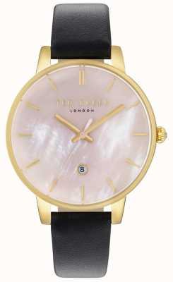 f1e277b23f740 Ted Baker Womans Kate Floral Strap Black Dial TE10031549 - First ...
