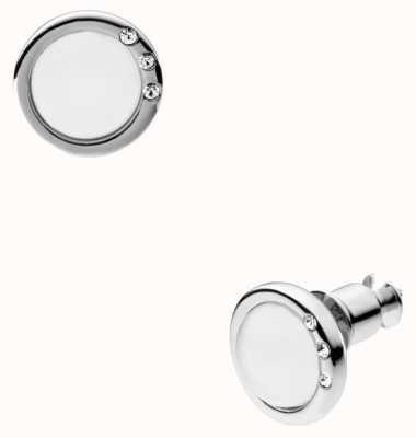 Skagen Womens Stainless Steel Seas Earrings SKJ0103040