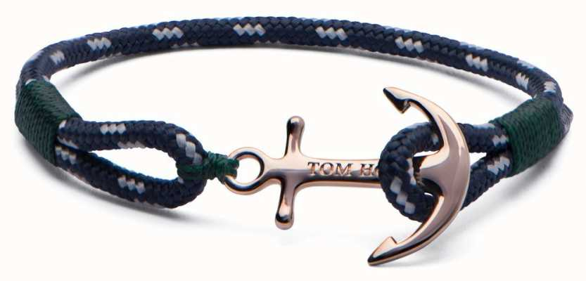Tom Hope Solid Brass Anchor Mediterranean Extra Small Bracelet TM0070
