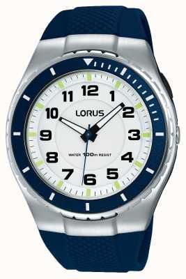 Lorus Mens Sport Functional Silicone Strap Black R2329LX9
