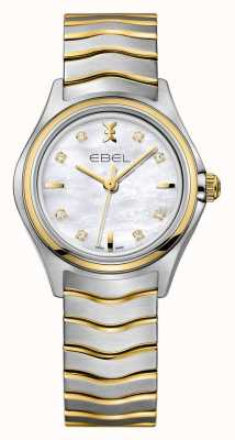 EBEL Wave Womens Two-tone Watch 1216197